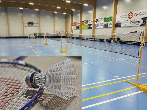 Badminton tider fortfarande lediga